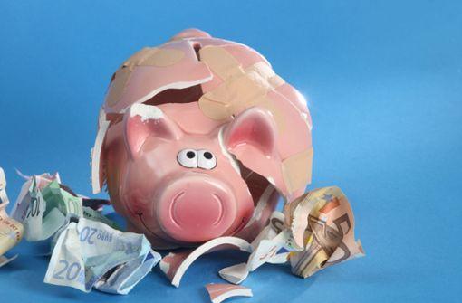 Milliardenverluste für Sparer im Südwesten
