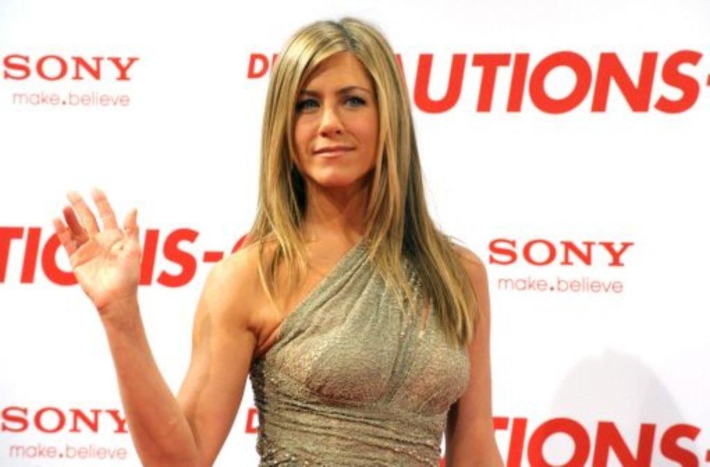 Ihren Körper hätten 23 Prozent der Befragten gerne: Jennifer Aniston landet damit auf Platz eins. Foto: dpa