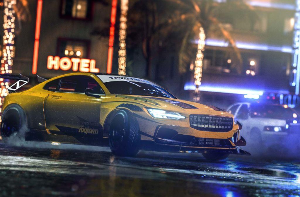 Unter den Autos sind auch echte Klassiker zu finden. Foto: Electronic Arts