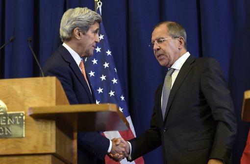 USA und Russland legen neue Waffenruhe fest