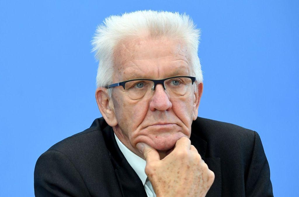 So beliebt wie kaum ein anderer Ministerpräsident: Winfried Kretschmann. Foto: dpa