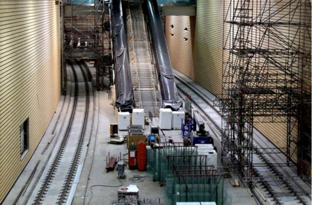 Miliardengrab: Der City-Tunnel in Leipzig. Foto: dapd