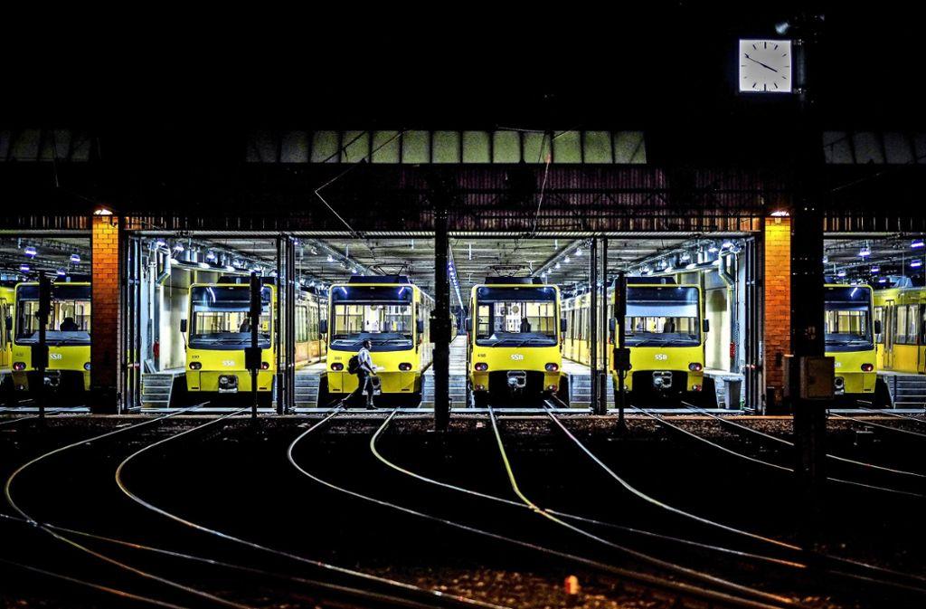 An der Schockenriedstraße in Möhringen befindet sich einer von derzeit drei Betriebshöfen der SSB. Foto: Lichtgut/Leif Piechowski