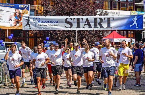 Tausende rennen für das Leben