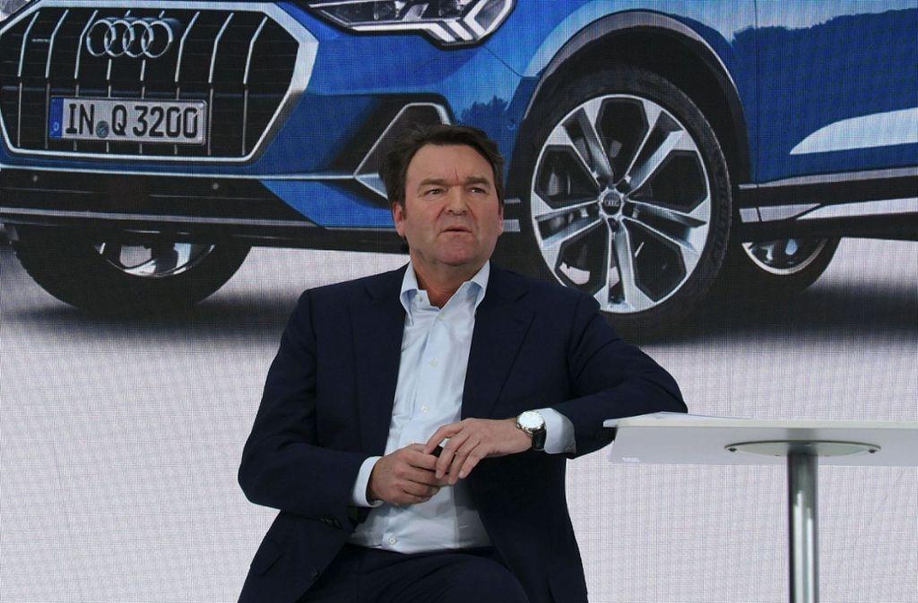 Der neue Audi-Chef Bram Schot will den Fahrzeugbauer zu alter Stärke zurückführen. Foto: AFP