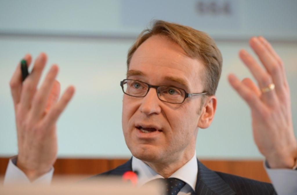 Als Folge der Krise: Bundesbank-Präsident erhöht die Rücklagen drastisch. Foto: dpa