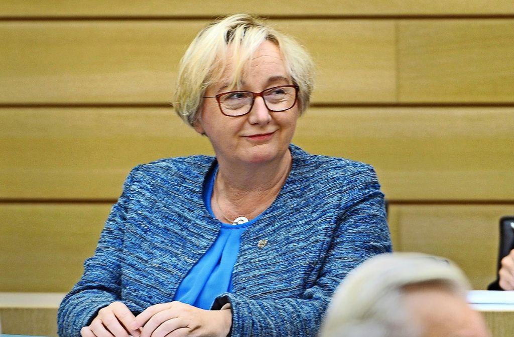 Wissenschaftsministerin Theresia Bauer soll versucht haben, den Asta-Chef zu diskreditieren. Foto: dpa