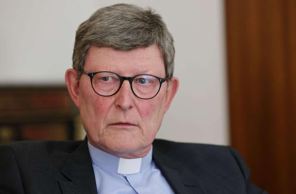 Erneuter Wirbel um den Kölner Kardinal Woelki. Foto: dpa/Oliver Berg