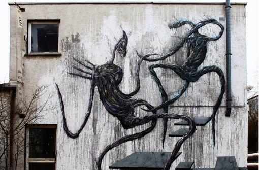 Das Mural soll auch ein Beitrag für den Erhalt der Subkultur-Stätte sein. Foto: Dust