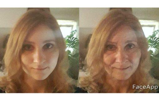 Promis machen sich per Gesichts-App älter