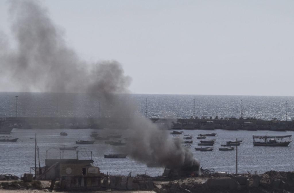 Am Strand von Gaza fanden vier Jungen den Tod. Foto: dpa