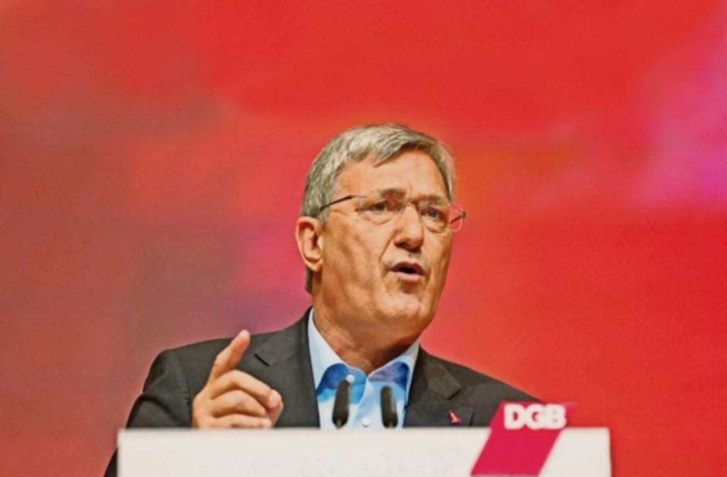 Linksparteichef Bernd Riexinger Foto: dpa