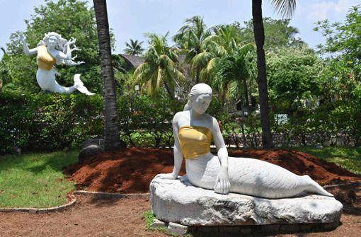 Freizeitpark duldet keine nackten Brüste - auch nicht aus Stein