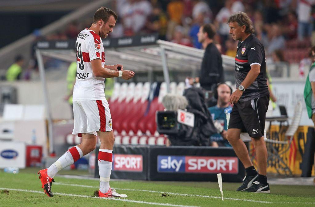 Der VfB Stuttgart hat Kevin Großkreutz mit sofortiger Wirkung beurlaubt. (Archivbild) Foto: Pressefoto Baumann