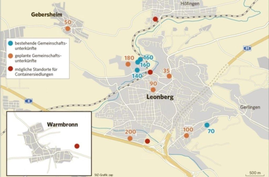 Auch über diese möglichen neuen Standorte wird am Freitag gesprochen. Foto: StZ