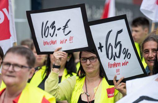 Auch in Stuttgart soll Samstag gestreikt werden