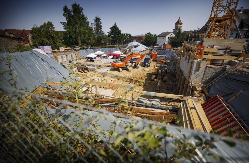 Wo sich die Waiblinger einst weiterbildeten entsteht nun ein innerstädtisches Wohnquartier. Foto: Gottfried Stoppel