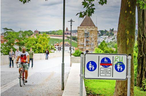 Pliensaubrücke für Radler gesperrt