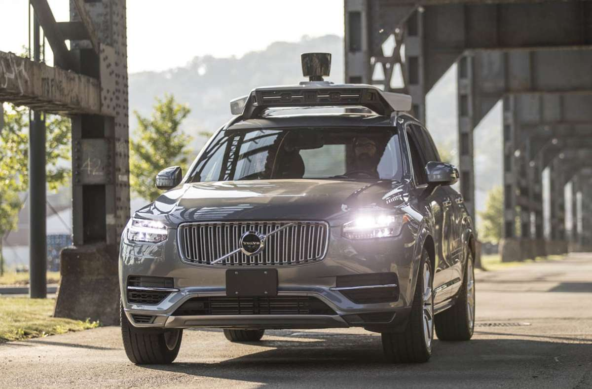 Uber testet autonomes Fahren mit modifizierten Volvo-SUVs. Foto: Uber/Hollis Bennett