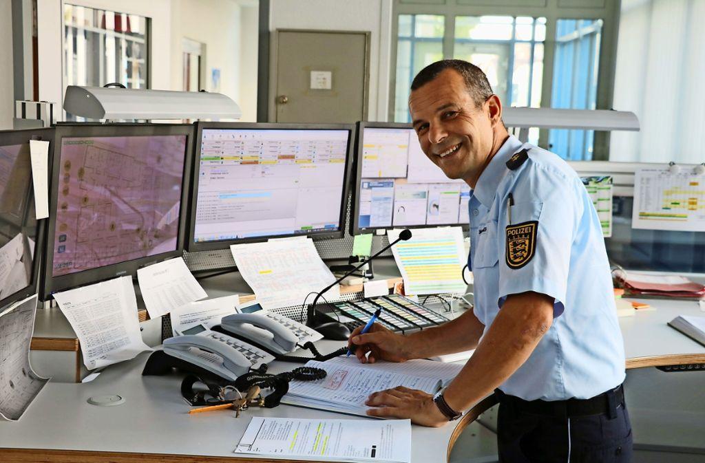Guido Passaro freut sich auf seinen neuen Job und die neuen Kollegen. Foto: Bernd Zeyer