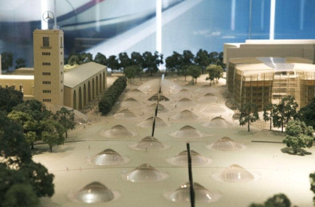 Der Bau des unterirdischen Durchgangsbahnhofs sorgt weiter für Diskussionen im Stuttgarter Gemeinderat. Foto: dapd