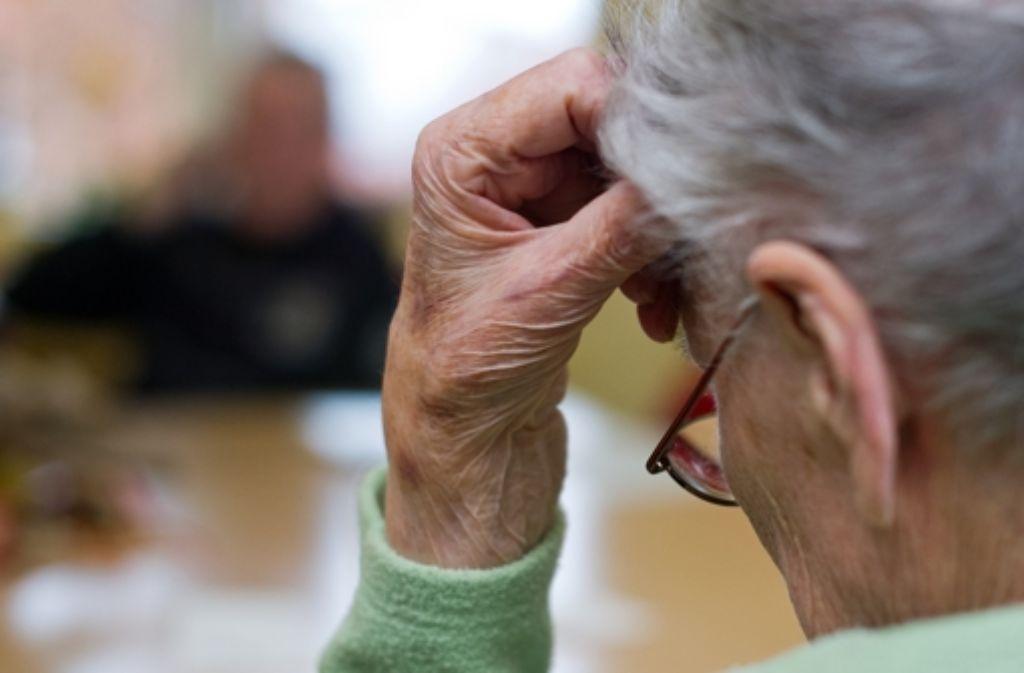 Demenz ist eine der größten Herausforderungen für unsere Gesellschaft. Foto: dpa