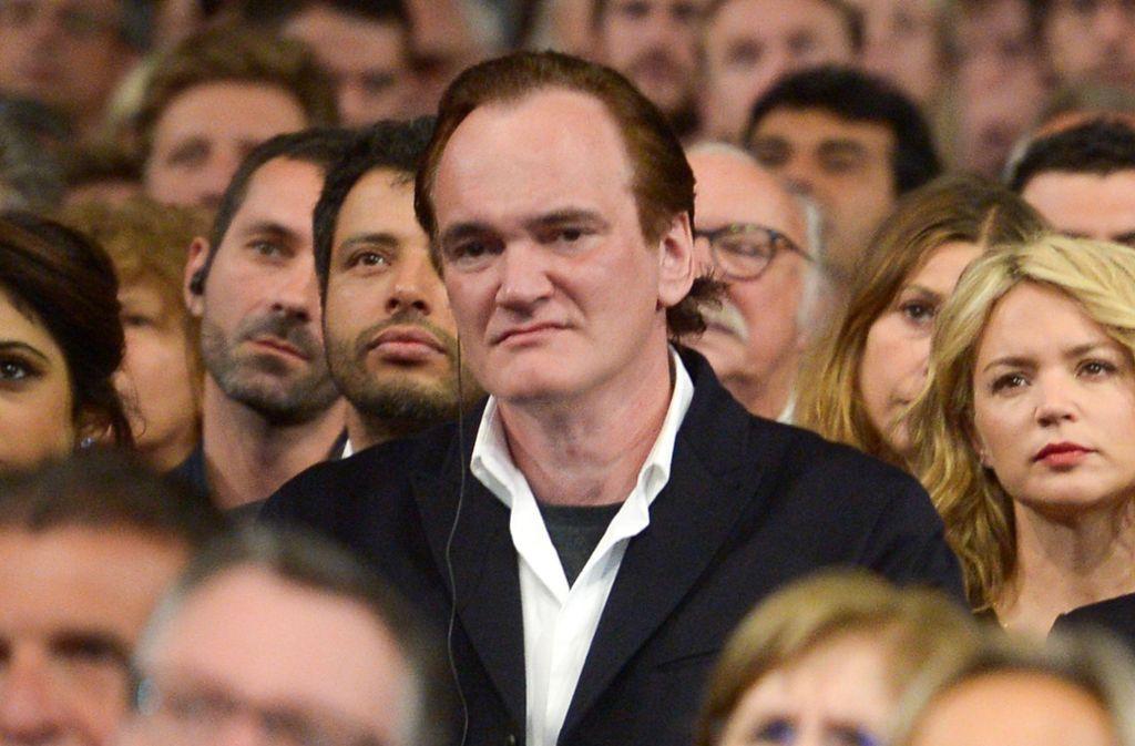 Auch Quentin Tarantino ist nicht glücklich über die Reform der Oscar-Show. Foto: Getty