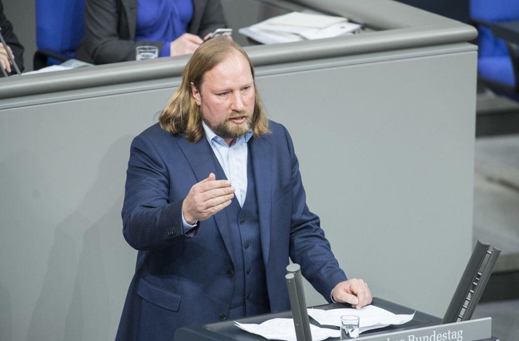 Der Grünen-Fraktionschef Anton Hofreiter spricht sich weiter für ein Tempolimit aus. Foto: www.marco-urban.de/Marco Urban