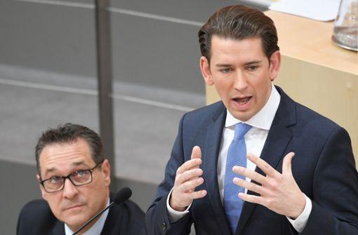 Regierungschef Kurz sorgt für Harmonie in Wien