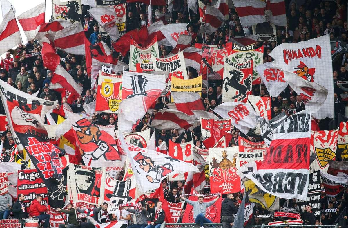 Die VfB-Fans werden wieder einmal auf eine harte Probe gestellt. Foto: Baumann