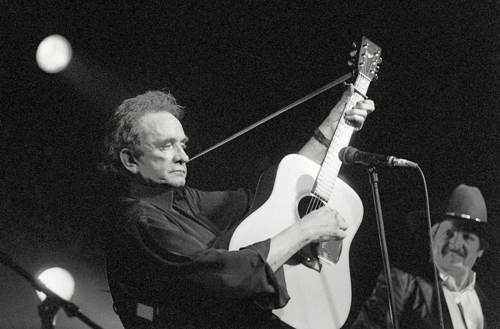 Auch Johnny Cash ist in Montreux aufgetreten. Foto: dpa