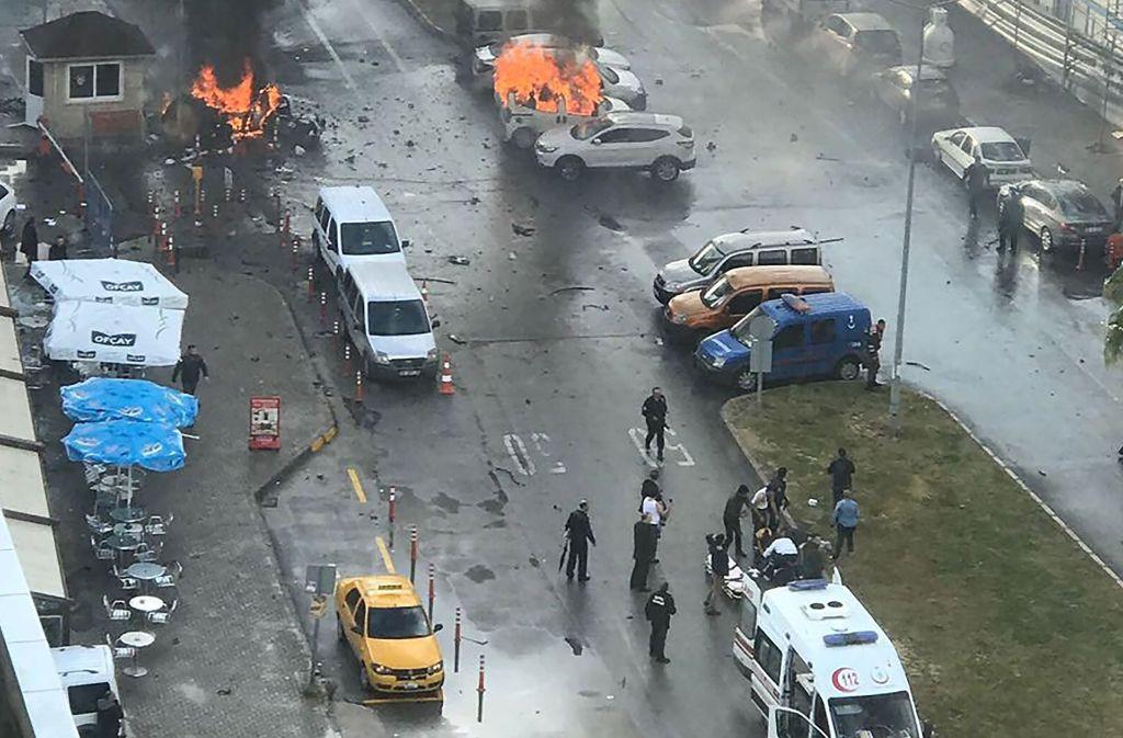 Im westtürkischen Izmir hat sich nach einem Bericht des Fernsehsenders CNN Türk am Donnerstag eine Explosion ereignet. Foto: dpa
