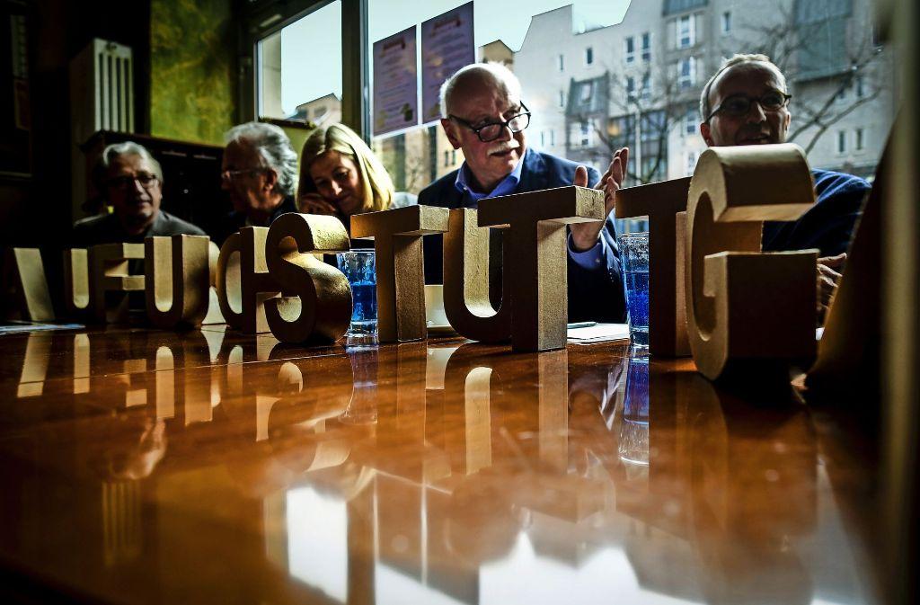 Der vor einem halben Jahr gegründete Verein Aufbruch Stuttgart sieht sich auf dem richtige Weg und spürt bereits, dass ein Prozess des Umdenkens begonnen hat. Foto: Lichtgut/Leif Piechowski