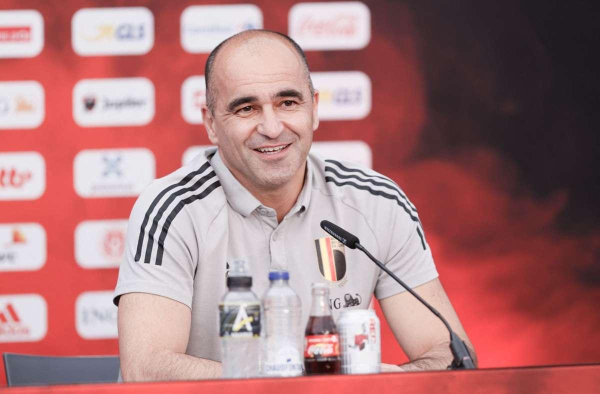 Belgiens Nationaltrainer Roberto Martínez Foto: AFP/BRUNO FAHY