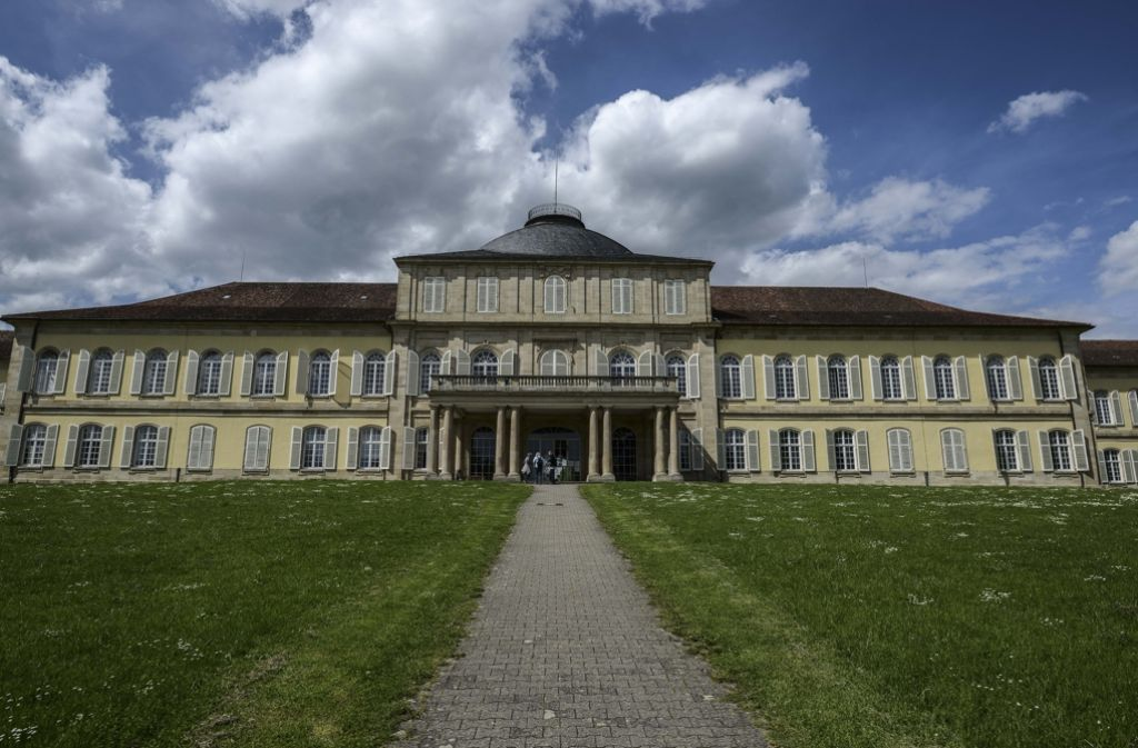Die Universität Hohenheim frischt sich auf: Innerlich ändern sich die Strukturen, äußerlich steht die Sanierung des Schlosses auf dem Plan Foto: Lichtgut/Leif Piechowski