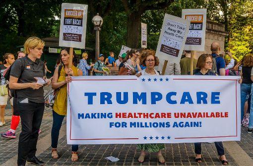 Experten verreißen Trumpcare
