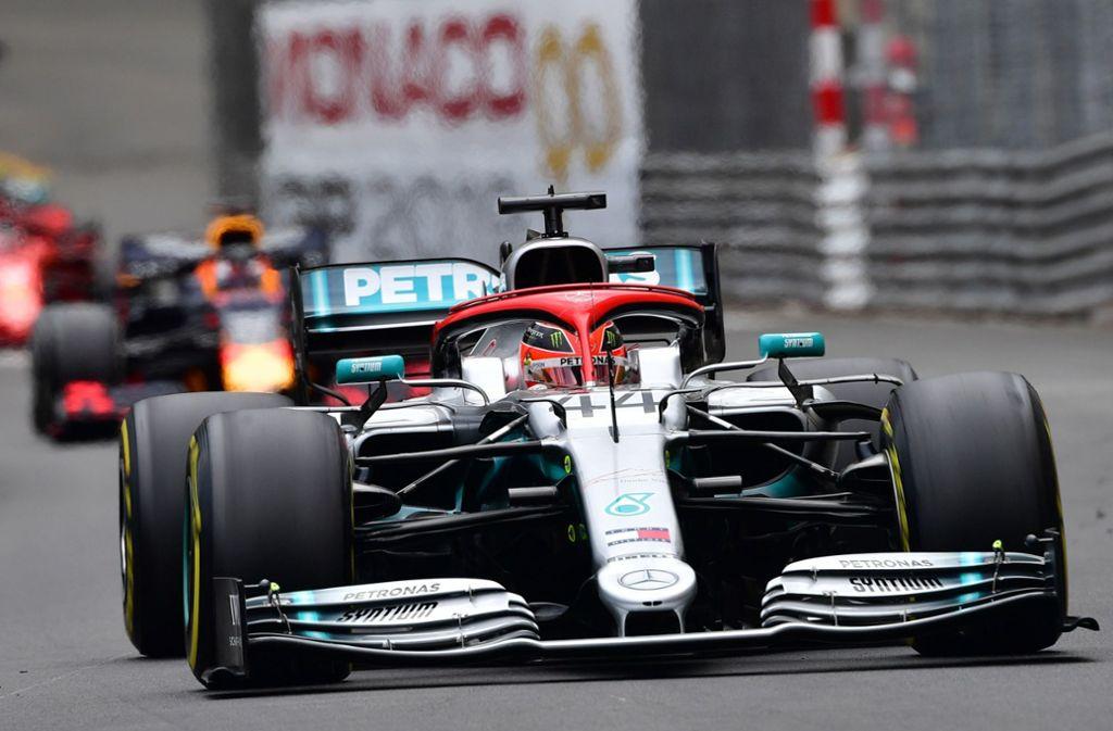 Lewis Hamilton heißt der Sieger vom Großen Preis von Monaco. Foto: AFP