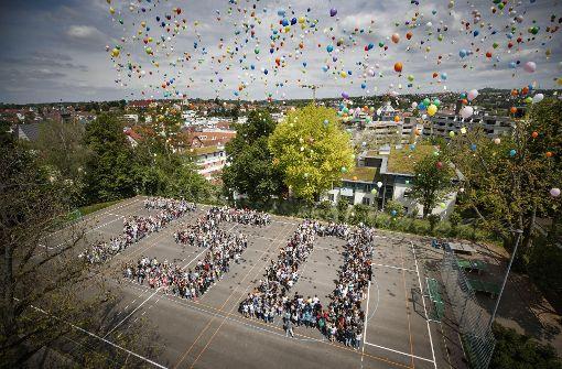 Luftballonstart als Matheaufgabe