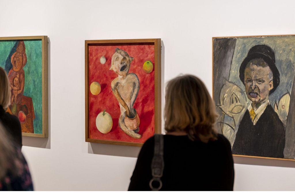 Lange zu Unrecht vergessen: die Werke des Expressionisten Walter Ophey. Foto: