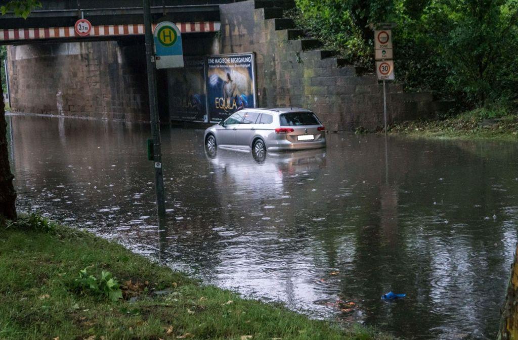 Unwetter Heilbronn