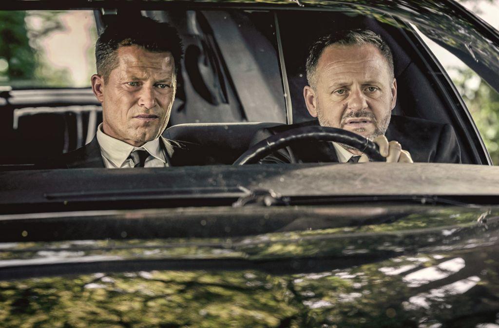 """Til Schweiger (links) und Samuel Finzi in """"Die Hochzeit"""" Foto: Verleih"""