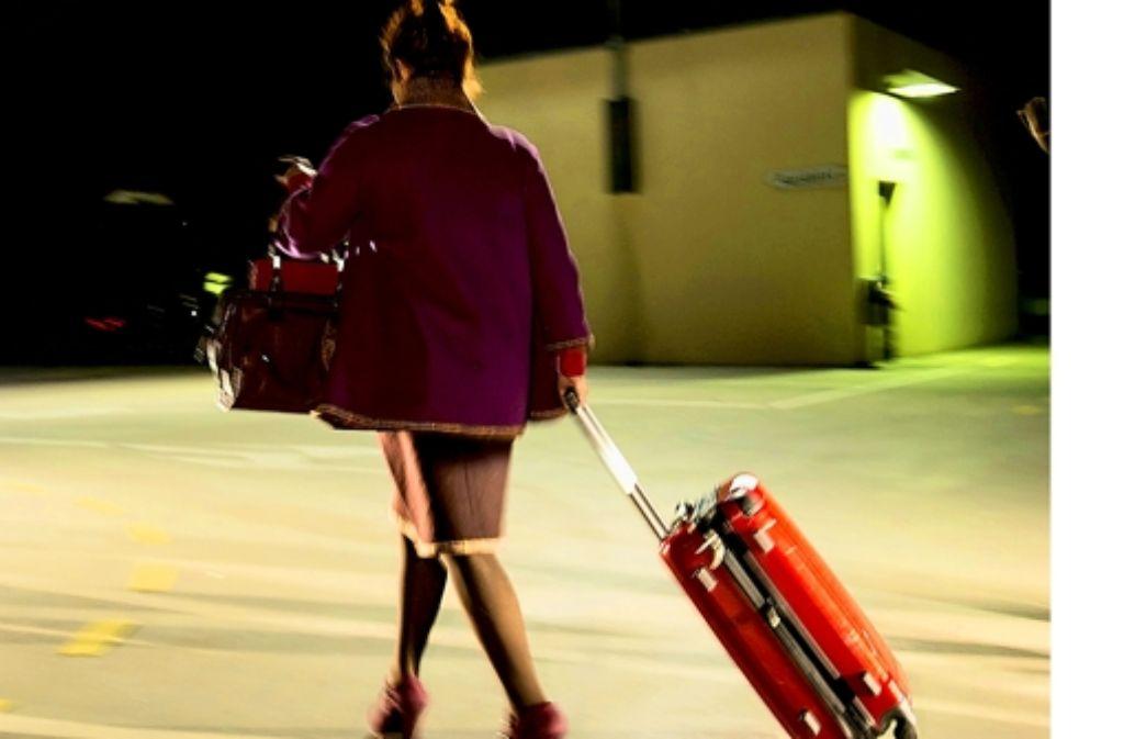 Andrea Leonetti spielt eine der Chauffeurinnen. Foto: Matthes Schrof