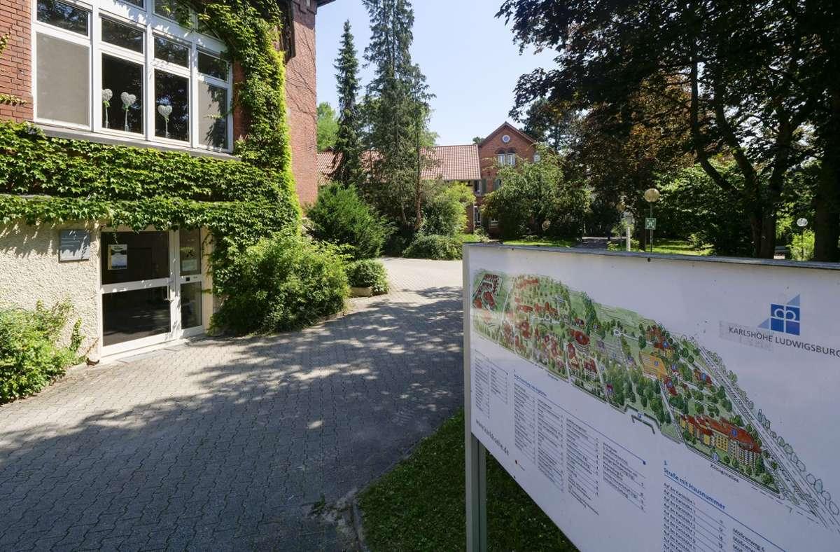 Die Ludwigsburger Karlshöhe trauert um einen Bewohner. Foto: factum/Simon Granville