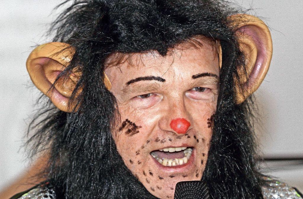 Ein Affe hat's im Rathaus nicht leicht: Neue Rolle für Ulrich Vonderheid. Foto: factum/Bach