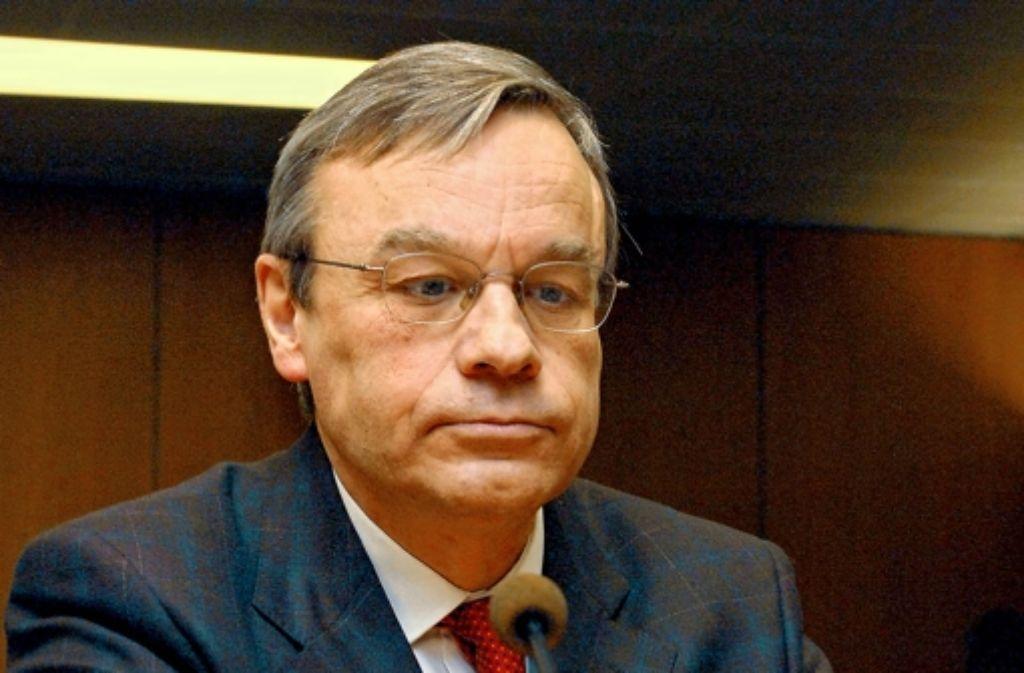 Der zuständige Oberstaatsanwalt Bernhard Häußler Foto: StZ