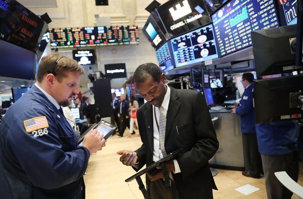 Die Börsen reagierten nervös auf den EU-Austritt der Briten. Auch Deutschland könnte davon wirtschaftlich betroffen sein sagen Ökonomen. Foto: Getty