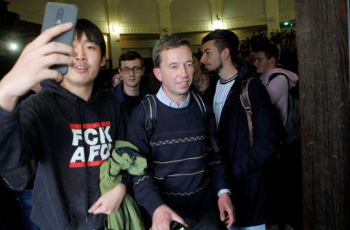 AfD-Mitbegründer Bernd Lucke kann erste Vorlesung nicht halten