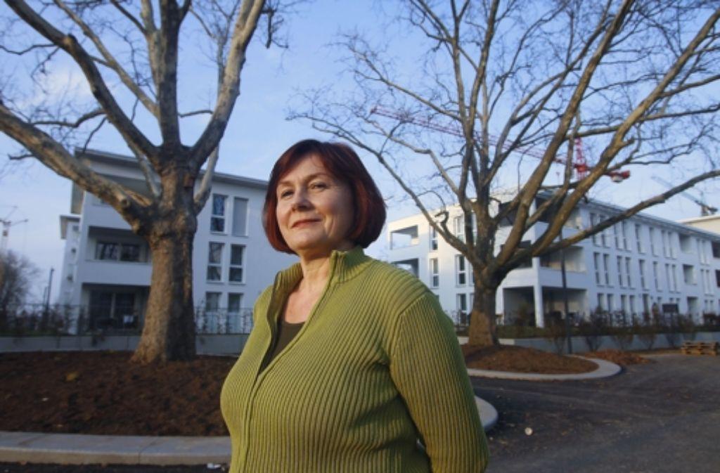 Auch für die Bäume auf der Hartenecker Höhe hat sie gekämpft: Sich interessieren gehört zum Lebensprinzip von Elfriede Steinwand (Grüne) Foto: factum/Granville