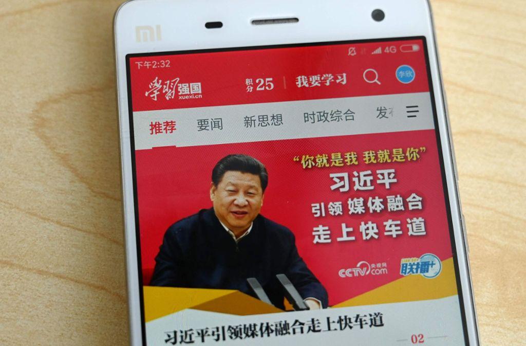 Chinesische Blogger vergleichen Präsident Xi Jinping gerne mit Pu, dem Bären, um die Politiker herabzuwürdigen. Foto: AFP