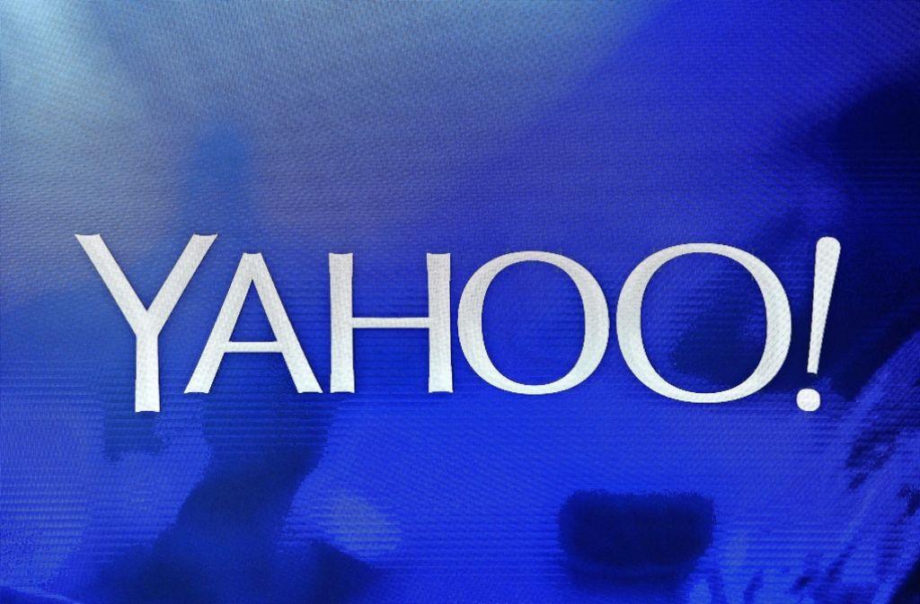 Yahoos Ausrufezeichen müsste eigentlich zum Fragezeichen werden. Das Webgeschäft des Internetpioniers geht zum Schnäppchenpreis an Verizon. Foto: AFP